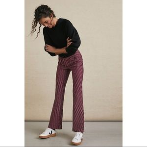 Anthropologie-The Essential Slim Flared Pants